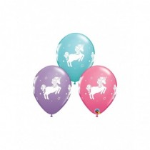 Globo de latex 11 pulg. (27,9cm) Special Whimsical Unicorn