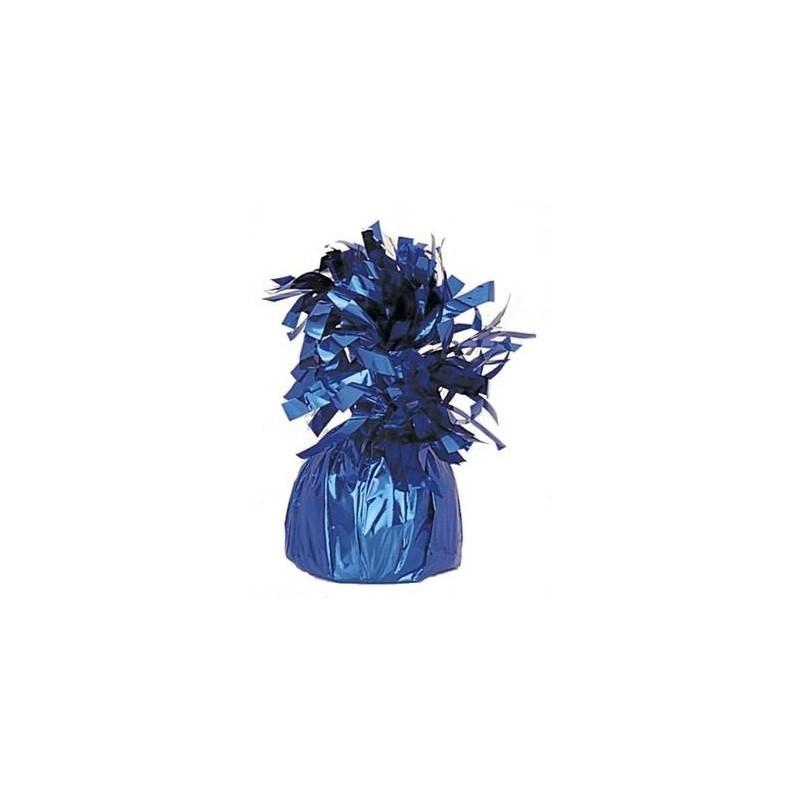 Peso metalizado color azul oscuro