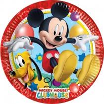 Platos carton 23cm Playful Mickey