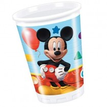 Vaso plast. 200ml Playful Mickey
