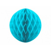Bola de panal, turquesa, 30cm