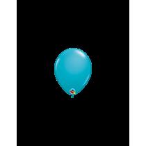 Globo de latex 05 pulg pequeño. (12,7cm) Tropical teal 10 ud