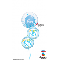 Ramo de globos Baby Boy
