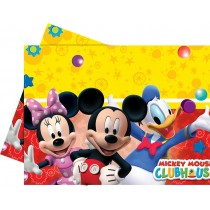 Mantel plastico 120x180cm Playful Mickey