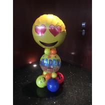 Montaje de globos Emoticono
