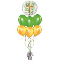 RamosDe  Globos cruz comunion