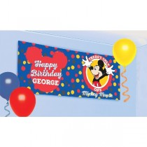 Banderin Mickey Mouse Personalised1.2m x 45cm