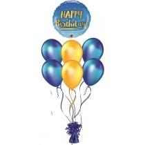 Ramo De Globos Happy Birthday Blub