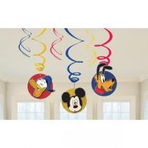Decoracion Colgante Mickey Mouse Swirl Decorations