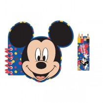 Libretas Mickey Mouse Activity Colouring Books
