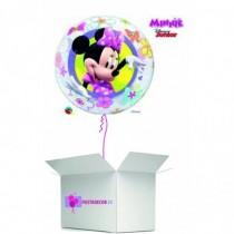 Globo en caja sorpresa burbuja minie
