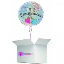 Globo en caja sorpresa happy engagement