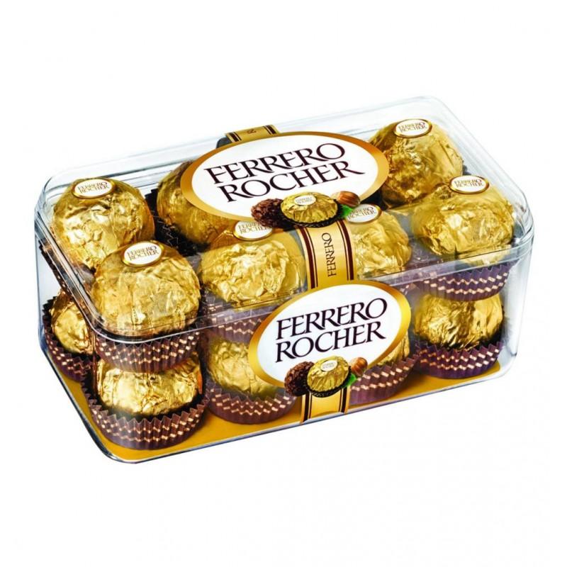 Caja Ferrero Rocher 16 ud