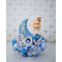 Ramo de globos Bienvenido Bebé