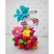 Ramo de globos Flores