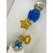 Ramo De Globos Happy Birthday Juan