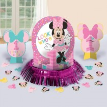 Kit Decoracion Mesa Minnie 1 Año