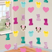 Decor. Colg. Tira Minnie 1 Año