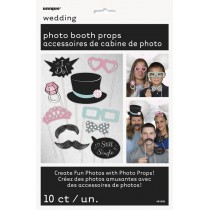 Photo props boda 10 piezas