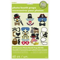 Photo props kit - 60 piezas