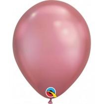 globo de látex Chrome de 11 pulgadas (27,9 cm) bolsa de 10 unidades  - rosado