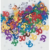 confeti multicolor edad - 30