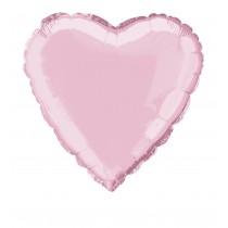 globo metalizado empacado 18 pulgadas/ 45,72 cm forma estrella rosa pastel