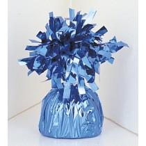 peso metalizado azul claro