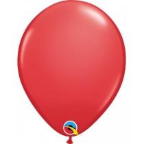 globo de látex liso de 11 pulgadas/ 27,9 cm 10 unidades color rojo