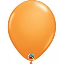 globo de látex liso de 11 pulgadas/ 27,9 cm 10 unidades naranja