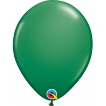globo de látex liso de 11 pulgadas/ 27,9 cm 10 unidades color verde