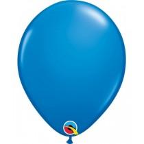 globo de látex liso de 11 pulgadas/ 27,9 cm 10 unidades color azul oscuro