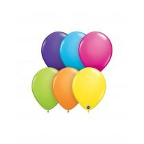 globo de látex surtido Tropical 11 pulgadas ( 27,9 cm) bolsa de 10 unidades