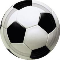 Platos de Postre futbol 17cm
