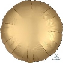"18""/45cm CIRCULO Satin Gold Sateen Circle (EMPAQUETADOS)"