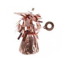 Soporte para Globos Aluminio Rosa Dorado - 170g