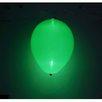 Globos látex con luz led