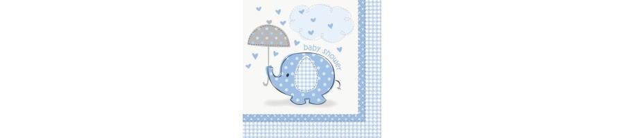 Artículos Fiesta Elefantes Azules