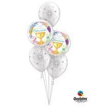 Ramos de globos para Comunión